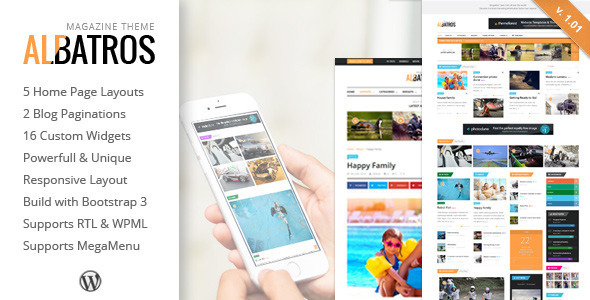 IncReason - Creative WordPress Blog Theme
