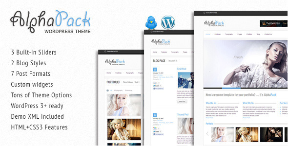 Webster - Creative WordPress Theme