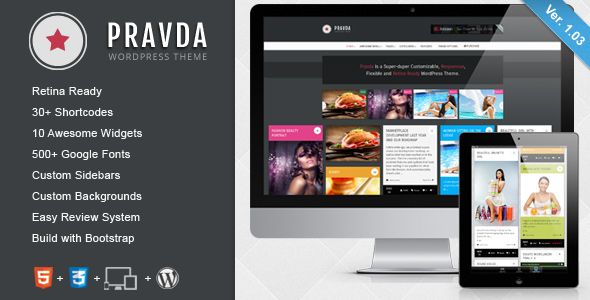 MagicNews - Responsive WordPress Magazine Theme