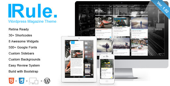 Courage - WordPress Creative Blog Theme