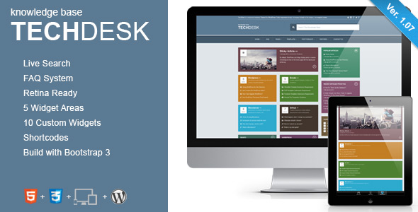 TechGuru - Responsive Knowledge Base FAQ WordPress Theme - 17