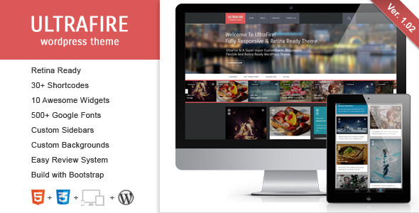 Flagman - Retina Responsive News WordPress Theme