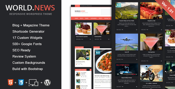Grideon - Responsive Creative WordPress Theme