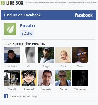 Facebook Widget - фото 3