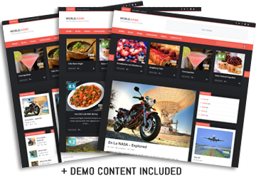 WorldNews - Responsive WordPress BlogMagazine - 21